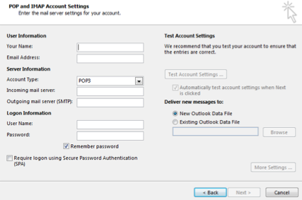 server smtp outlook