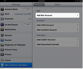 ios set up your suddenlink email help desk
